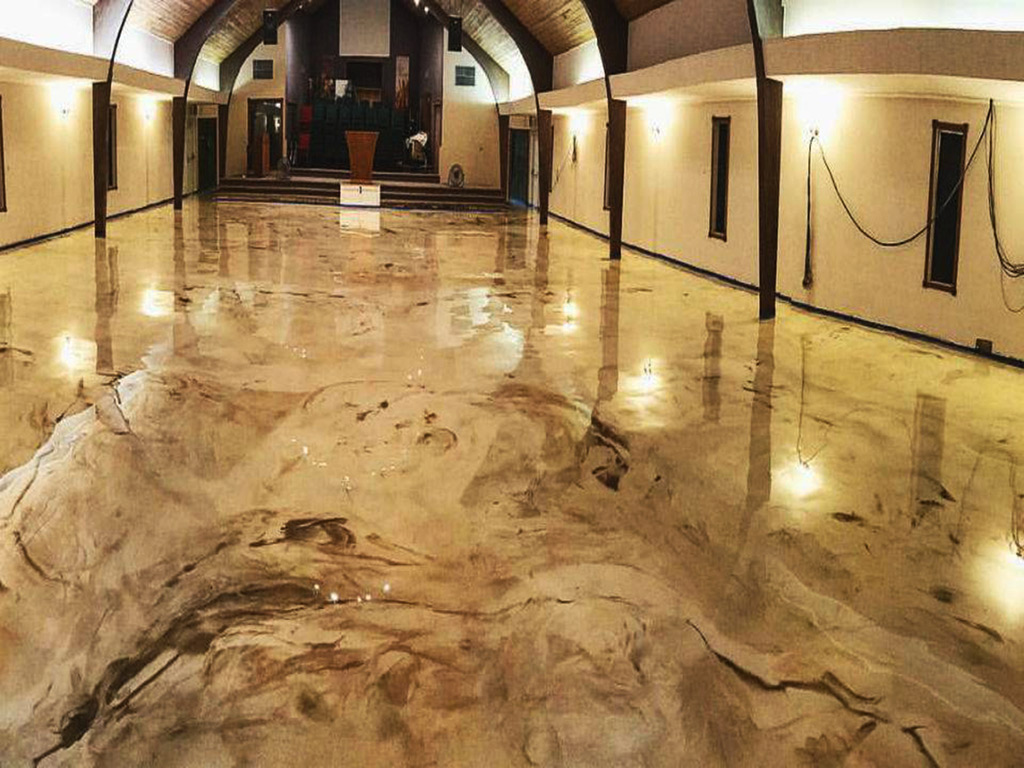 Reflective Flooring Systems Concrete Coating 10 Year
